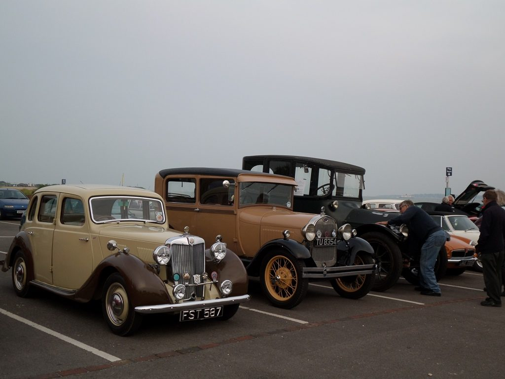 Classic Cars MG YB, Ford Model A