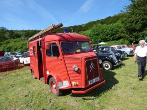 Red Citroen Van