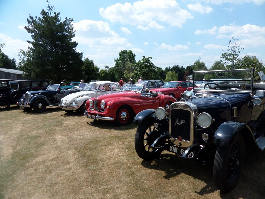 Line Up - Austin, Jowett, VW