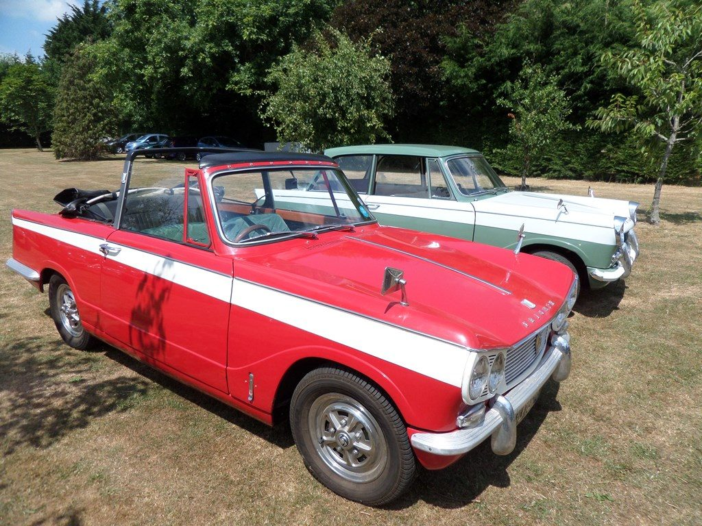 1965 Triumph Vitesse and 1962 Herald